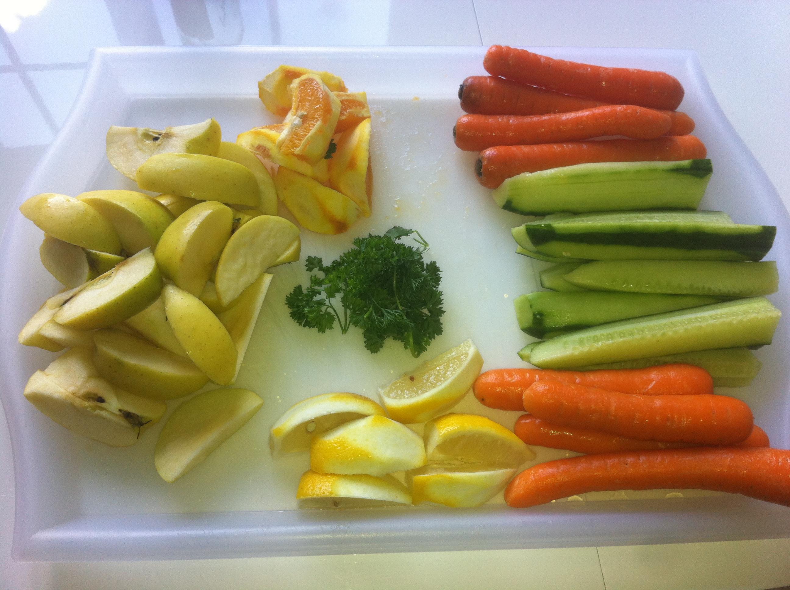 jus de carotte jus de concombre