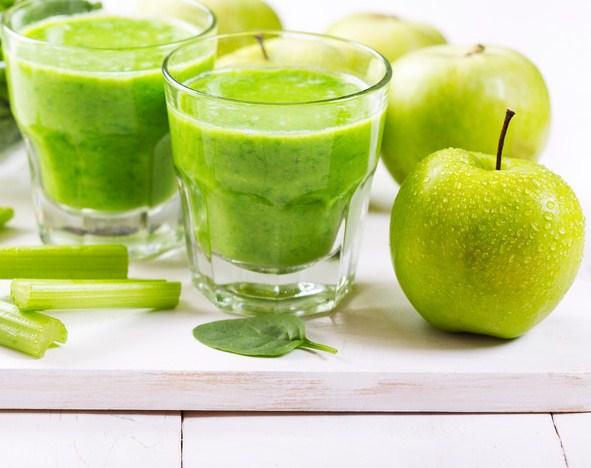 Le jus pomme celeri apporte de nombreux bienfaits - Jus de choucroute bienfaits ...