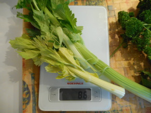 100 grammes céleri jus vert
