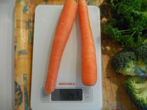 carottes jus vert 150 grammes