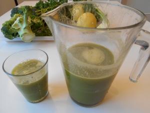 jus vert prêt à boire