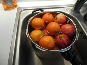 lavage des fruits et légumes