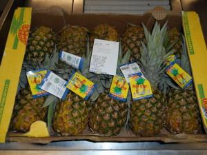 10 ananas jus d'ananas
