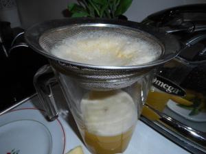 filtrage jus ananas 2