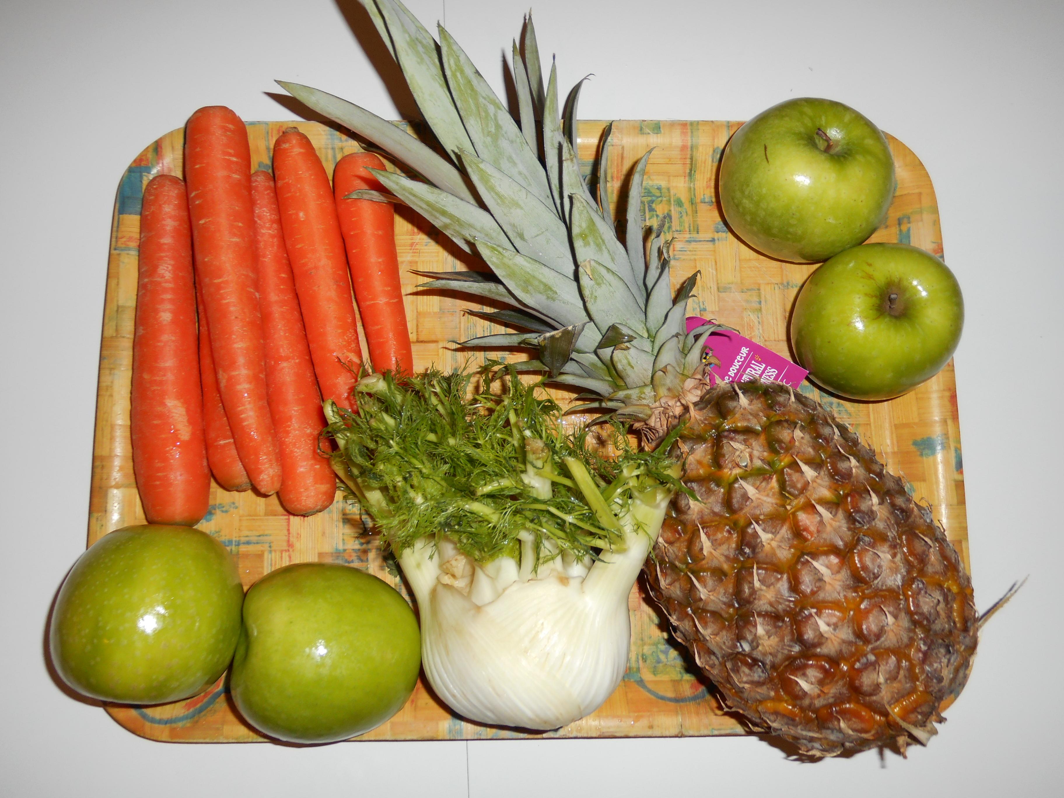 Ma recette de jus de fenouil - Gelee de pommes avec extracteur de jus ...