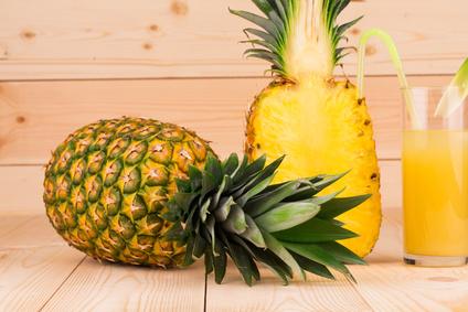 Un jus d 39 ananas citron vert au petit d jeuner vitaality for Regime ananas
