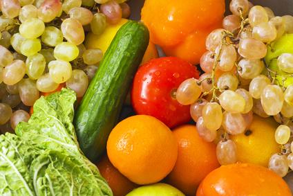 lavage fruits et légumes