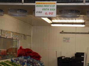 prix jus d'ananas