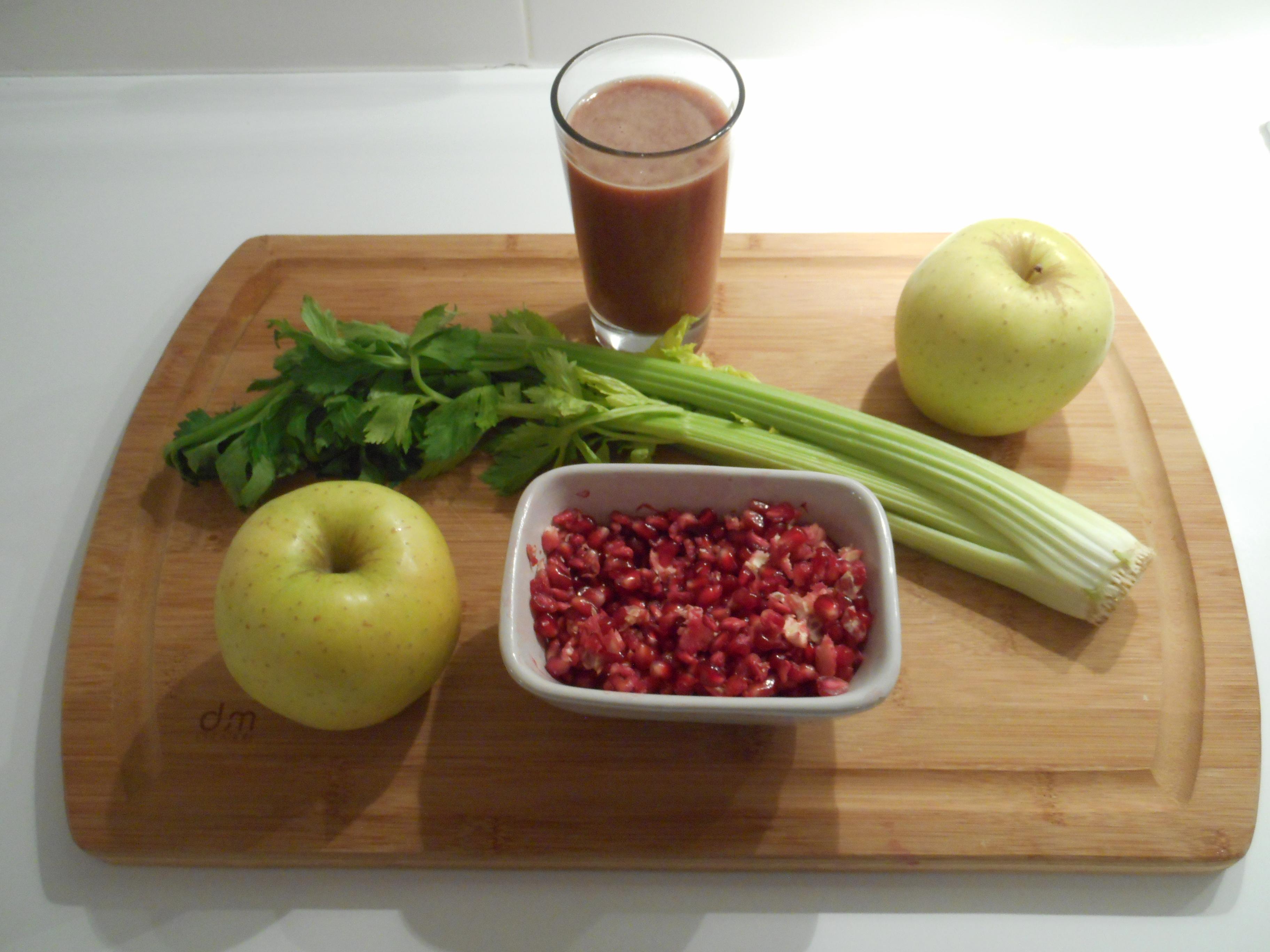 La recette du jus c leri pomme grenade rapide pr parer - Jus de choucroute bienfaits ...
