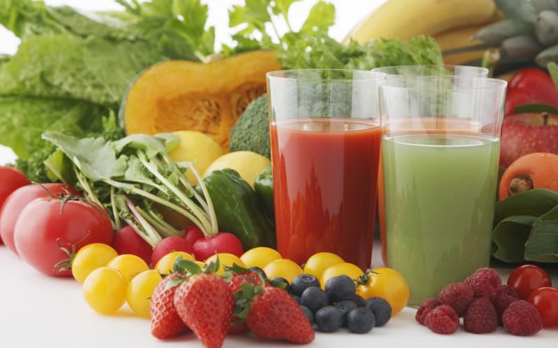 jus de légumes -