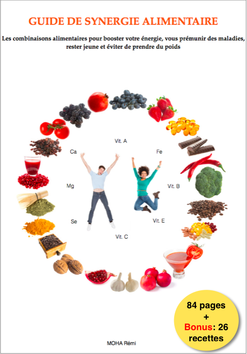 Ne mélangez plus n'importe quels aliments avec la synergie alimentaire. CLIQUEZ !