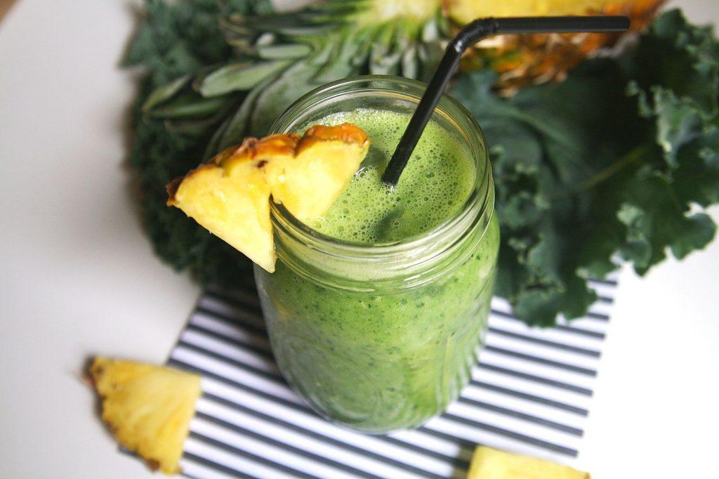 jus de légumes comme source d'énergie